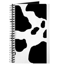 Cow Print Journal