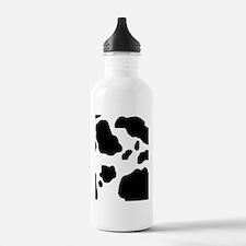 Cow Print Water Bottle