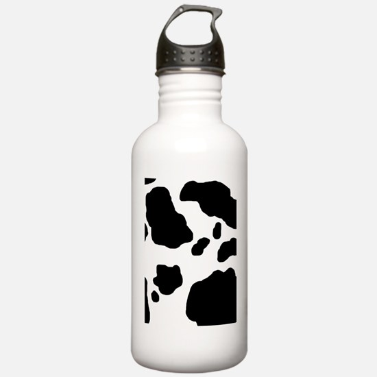 Cow Print Water Bottle