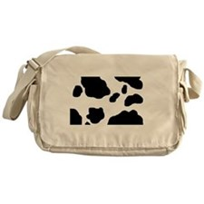 Cow Print Messenger Bag