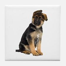 German Shepherd! Tile Coaster