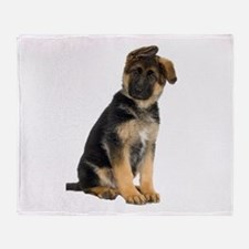 German Shepherd! Throw Blanket