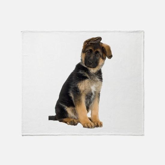 German Shepherd! Throw Blanket