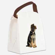 German Shepherd! Canvas Lunch Bag