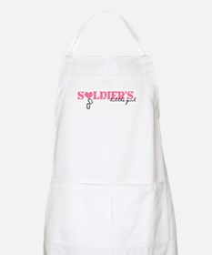 soldiers little girl Apron