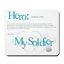 new hero design armybk.png Mousepad