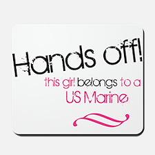 hands offusmcblack.png Mousepad