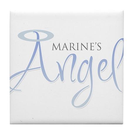 marines angel.png Tile Coaster