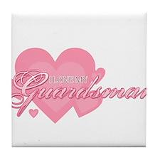 loveguardsman.png Tile Coaster