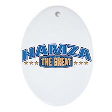 The Great Hamza Ornament (Oval)