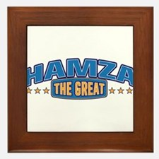 The Great Hamza Framed Tile