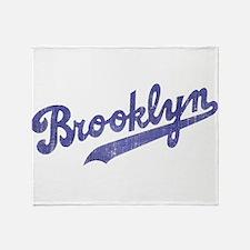 Throwback Brooklyn Throw Blanket