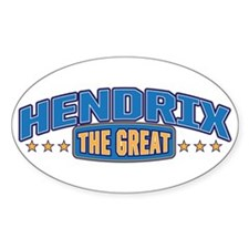 The Great Hendrix Decal
