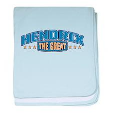 The Great Hendrix baby blanket