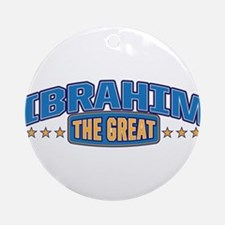 The Great Ibrahim Ornament (Round)