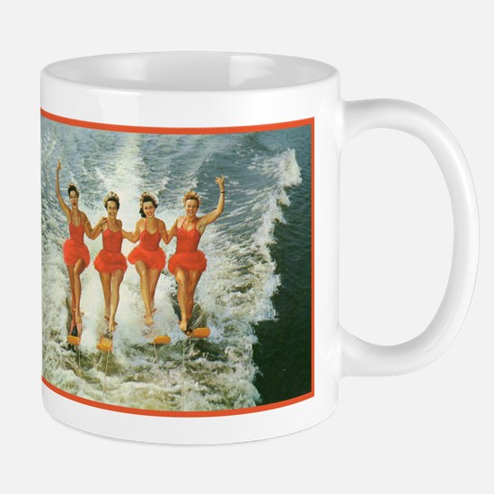 4 waterskiers Mug