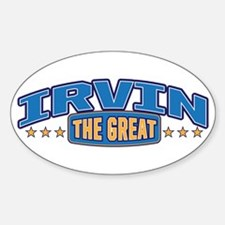 The Great Irvin Decal