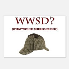 What Would Sherlock Do? Postcards (Package of 8)