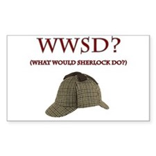 What Would Sherlock Do? Decal