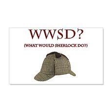 What Would Sherlock Do? Wall Decal