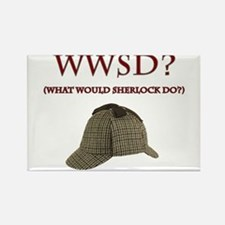 What Would Sherlock Do? Rectangle Magnet