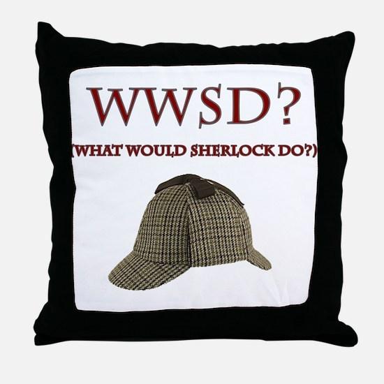 What Would Sherlock Do? Throw Pillow
