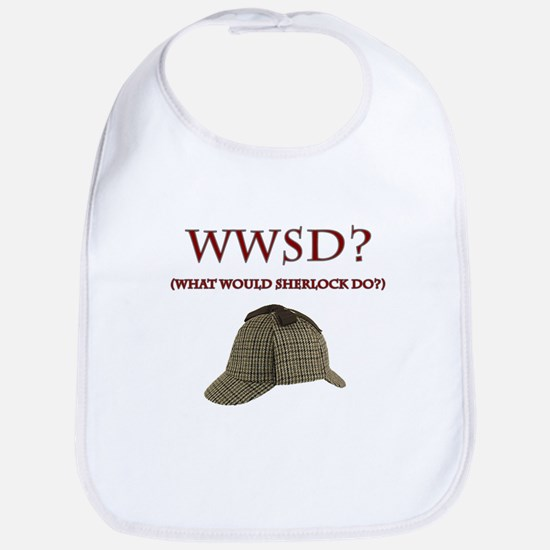 What Would Sherlock Do? Bib