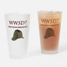 What Would Sherlock Do? Drinking Glass
