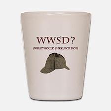 What Would Sherlock Do? Shot Glass