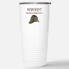 What Would Sherlock Do? Travel Mug