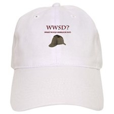 What Would Sherlock Do? Baseball Baseball Cap