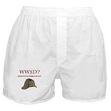 What Would Sherlock Do? Boxer Shorts