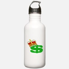CASH IS KING Water Bottle