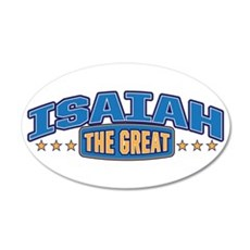 The Great Isaiah Wall Decal