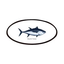 Bigeye Tuna Logo Patches