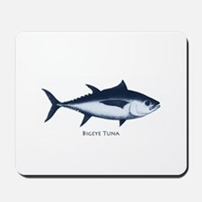 Bigeye Tuna Logo Mousepad
