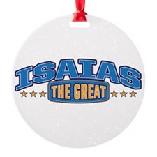 The Great Isaias Ornament