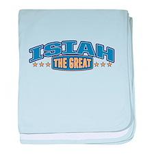 The Great Isiah baby blanket