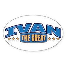 The Great Ivan Decal