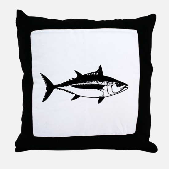 Longfin Albacore Tuna Throw Pillow