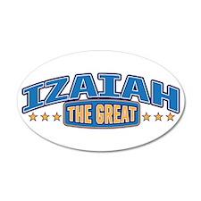 The Great Izaiah Wall Decal