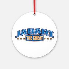 The Great Jabari Ornament (Round)