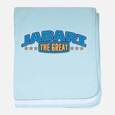 The Great Jabari baby blanket