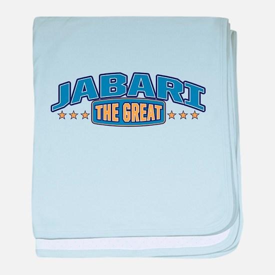 The Great Jabari baby blanket