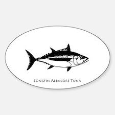 Longfin Albacore Tuna Decal