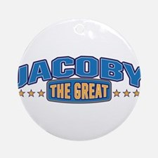 The Great Jacoby Ornament (Round)