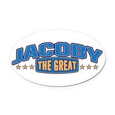 The Great Jacoby Oval Car Magnet