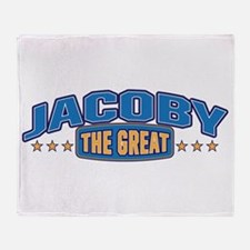 The Great Jacoby Throw Blanket