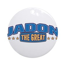 The Great Jadon Ornament (Round)