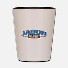 The Great Jadon Shot Glass